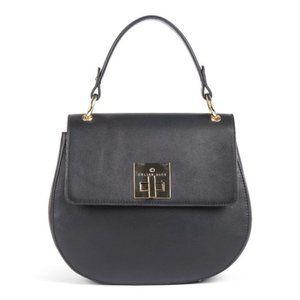 Céline Dion Minuet Leather Handle Bag